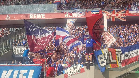 Kieler Fans in Köln - Foto: pin