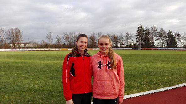 Kerstin Steinle (links), Annika Schepers (rechts)