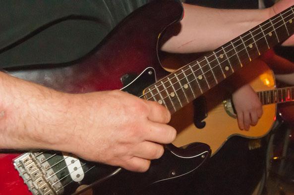 Gitarre Nahaufnahme