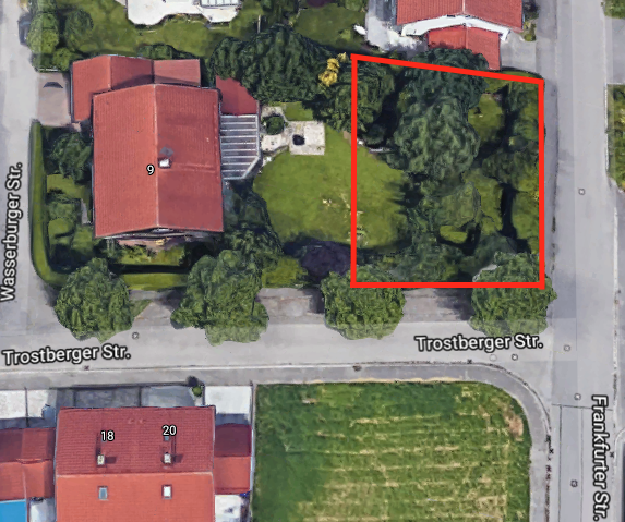 Grundstück in München Freimann