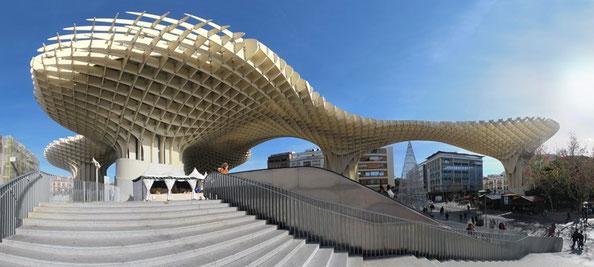 Metropol Parasol in Sevilla / Spanien