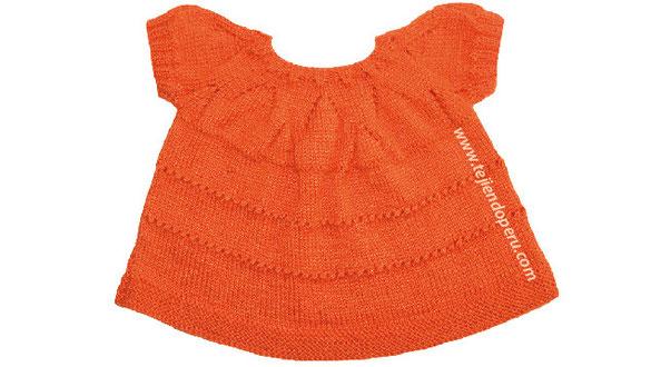 Tutorial: vestido con cenesú de picos para niñas