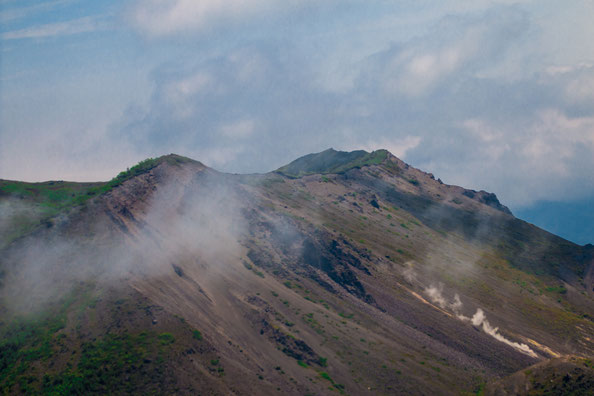 空からの昭和新山