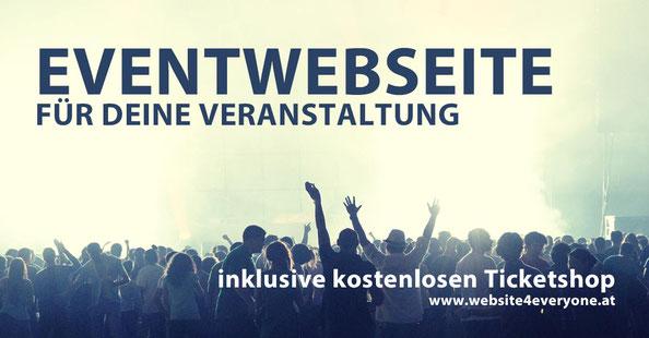 eventwebseite veranstaltungshomepage