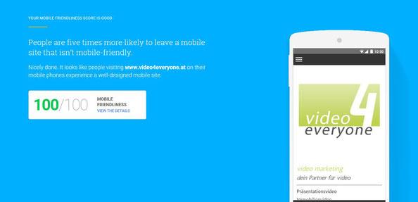jimdo mobile friendly