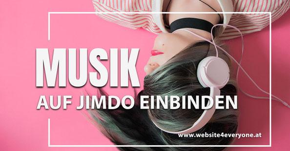 Musik Jimdo einbinden