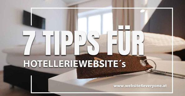 7 tipps für hotellerie webseiten