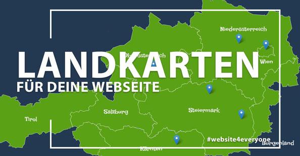 landkarte für jimdoseite webseiten