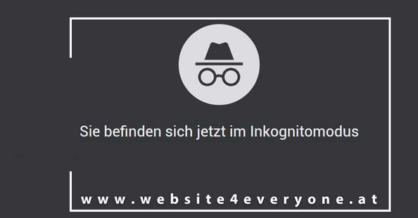 Browser Inkognitomodus