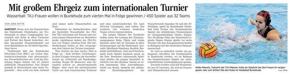 Hildesheimer Allgemeine Zeitung/Sarstedter Anzeiger vom 04.09.2014