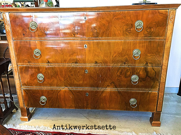 Biedermeier chest