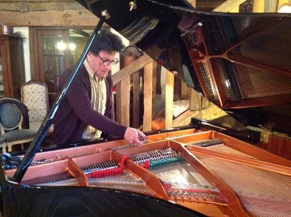 C'est le cas aussi pour ce Wendl & Lung, piano très apprécié des concertistes lors d'événements privés