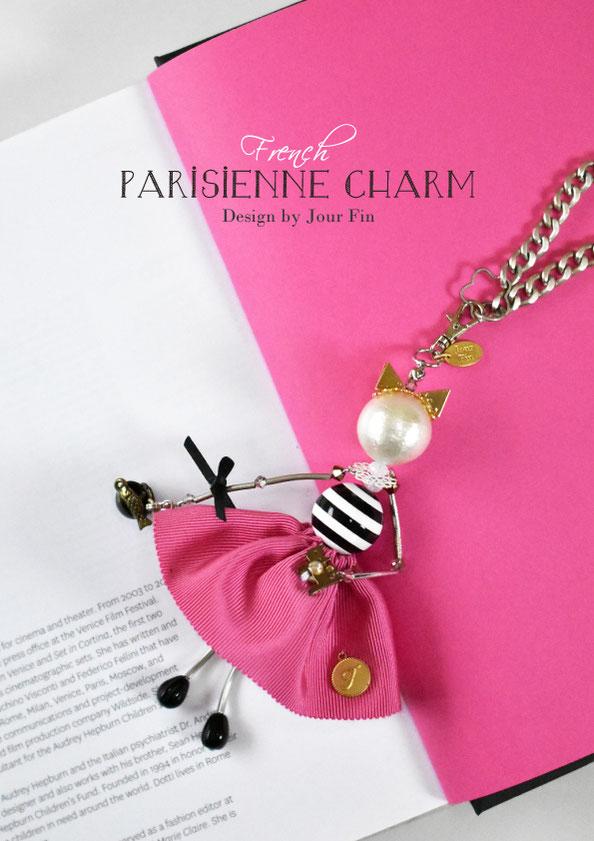 JourFin PARISIENNE CHARM パリジェンヌチャーム ビーズレッスン ビーズ人形 ビーズ フランスビーズ チェコビーズ ビーズレッスン