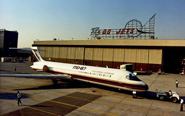 MD-87-Prototyp/Courtesy: McDonnell Douglas
