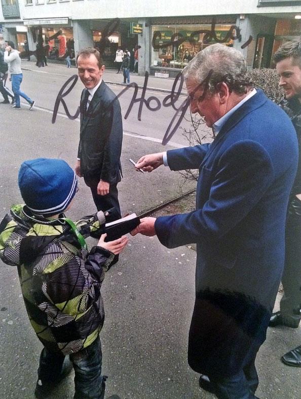 Roy Hodgson Autograph Autogramm
