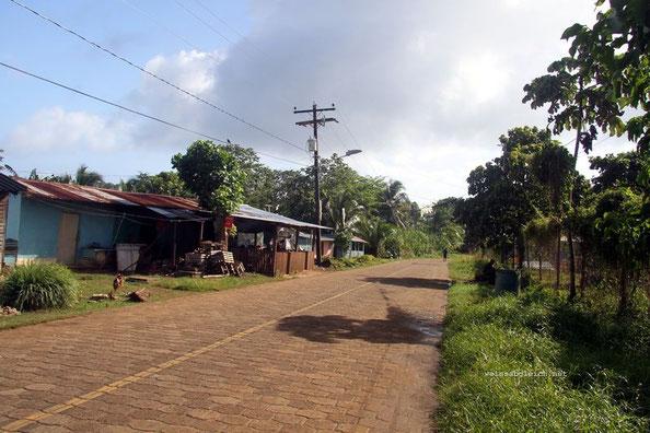 Straße auf Corn Island