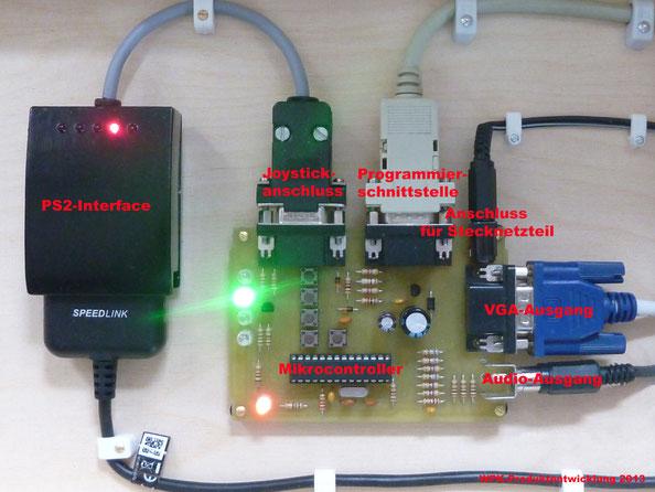 PS2-Interface an der Retro-Konsole