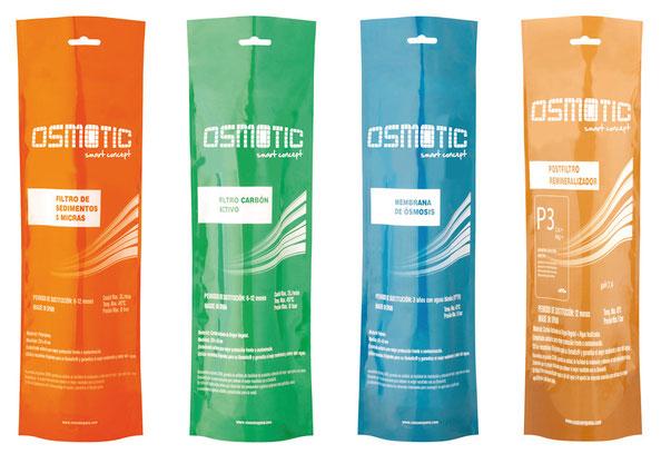 Recambio de filtros para el correcto funcionamiento de Osmotic Smart Concept