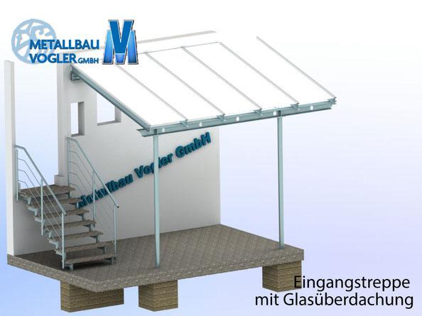 Metallbau-Vogler Treppe und Gallerie Feuerwehrhaus