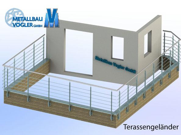Metallbau-Vogler Terassengelaender