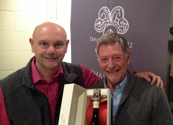 met Philippe Manfredini van champagne Telmont.