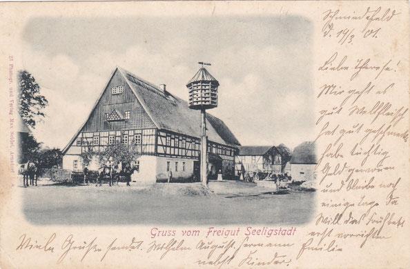 Bild: Seeligstadt Sachsen Oberes Freigut