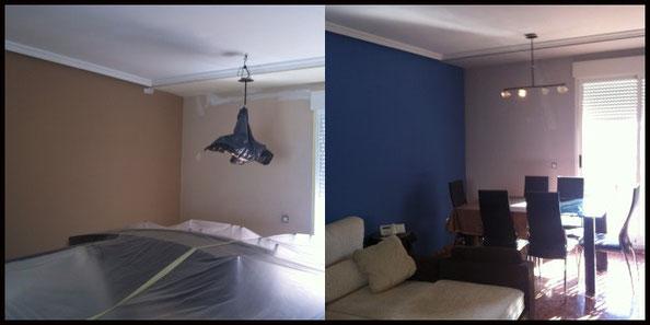 pintar piso color