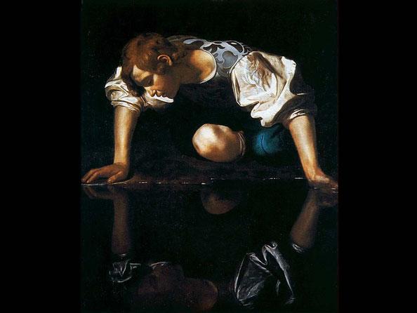 'Narciso', de Caravaggio