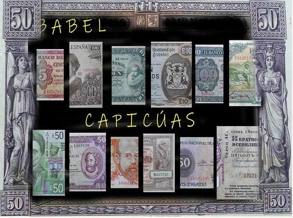 Babel: un paseo por el Mundo a través de billetes capicúas
