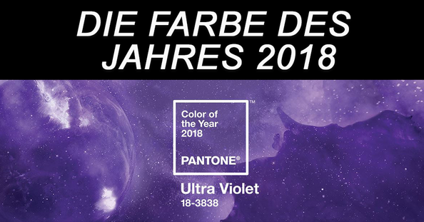 die farbe des jahres 2018 ultraviolett von pantone webdesign von website4everyone n wien. Black Bedroom Furniture Sets. Home Design Ideas