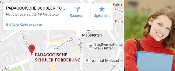 Pädagogische Schülerförderung Standort Meßstetten