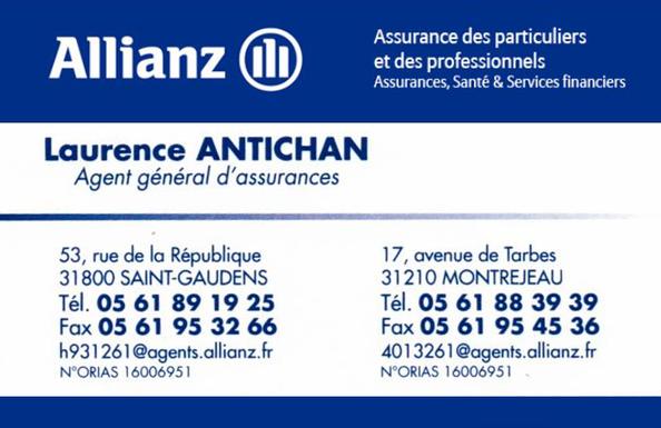 Allianz - Laurence ANTICHAN - Agent général d'assurances