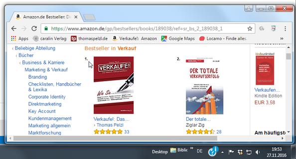"""Verkaufe! Das perfekte Verkaufsgespräch - Die Nummer 1 bei Amazon unter der Rubrik """"Verkauf"""""""
