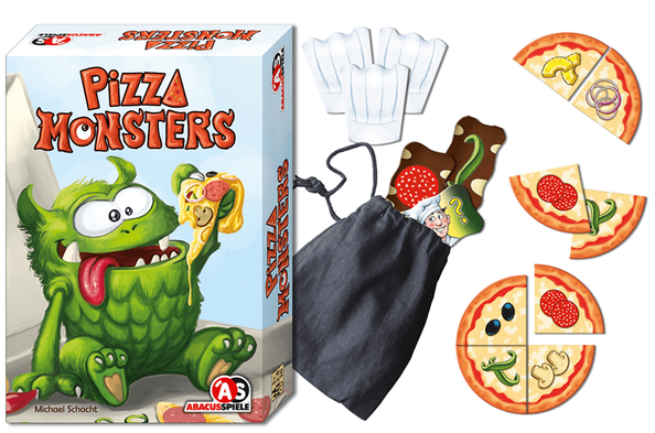Pizza Monsters Spielmaterial