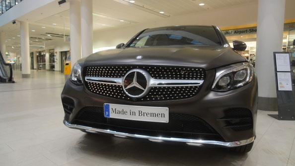 Bild: HDW USA, Flughafen Bremen, Mercedes-Benz, GLC, Werk Bremen