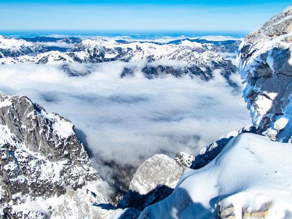 Aussicht von der Alpspitze