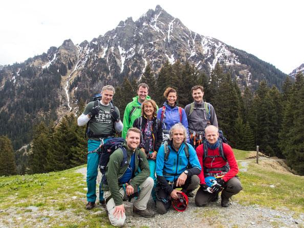 Coole Gruppe des DAV Ludwigsburg - vielen dank für das schöne Wochenende mit Euch :-)
