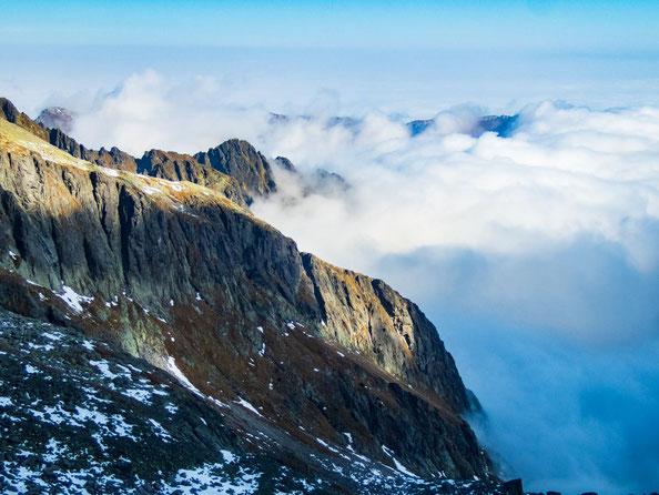 Wolkenmeere in den Bergen liebe ich soooooo sehr. Ihr auch?