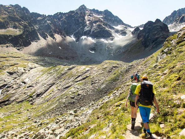 Suchbild - wer findet die Hauersee Hütte? Kleiner Tipp: in der linken Bildmitte