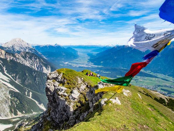 Auf dem Gipfel der Wankspitze. Könnt ihr euch einen schöneren Ort vorstellen?