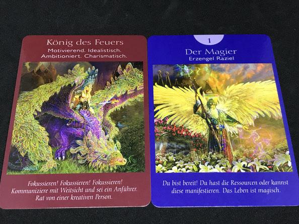 Das Engel-Tarot von Doreen Virtue auf Phönixzauber
