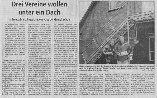 Elbe-Jeetzel-Zeitung 13.Januar 2011