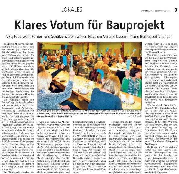 Elbe-Jeetzel-Zeitung 15.Sepetmber 2015
