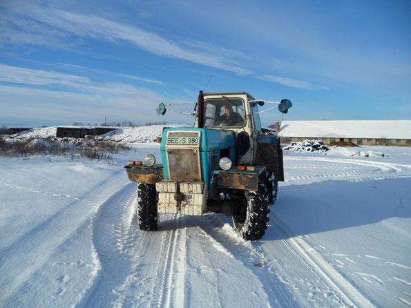 Drift im Schnee Januar 2011