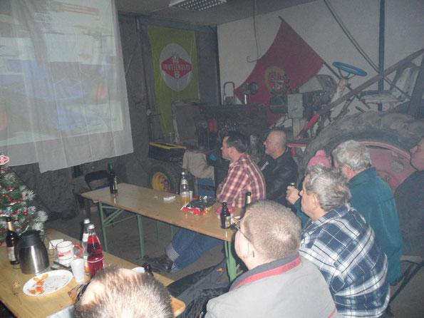 Weihnachtsfeier 2010 in der ZT Schmiede Zechin