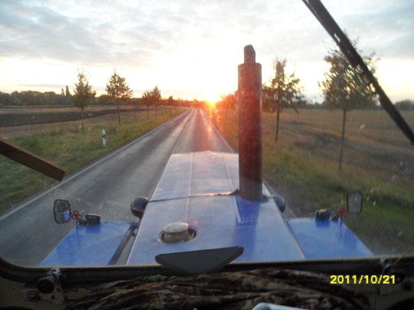 geschuftet bis zum Sonnenuntergang