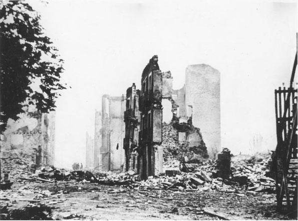 破壊されたゲルニカ(1937年)
