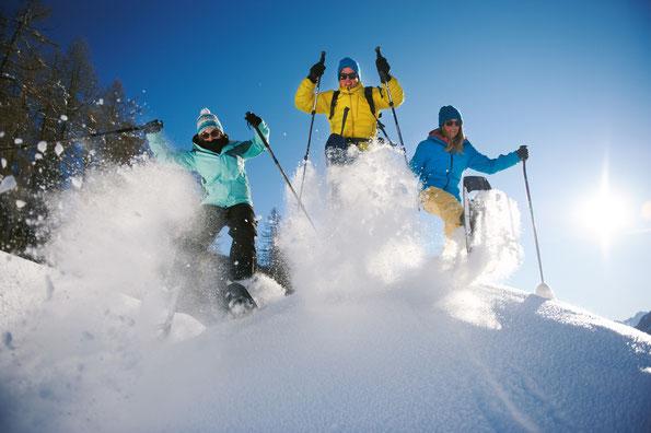 Schneeschuh-Tour Davos