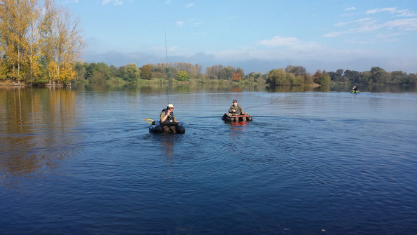 Bellyboot Angler am 19.10.2014