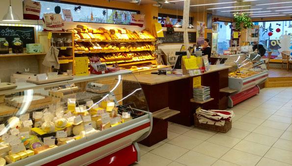 Bedientheken für Käse, Brot, Kuchen, Bistro